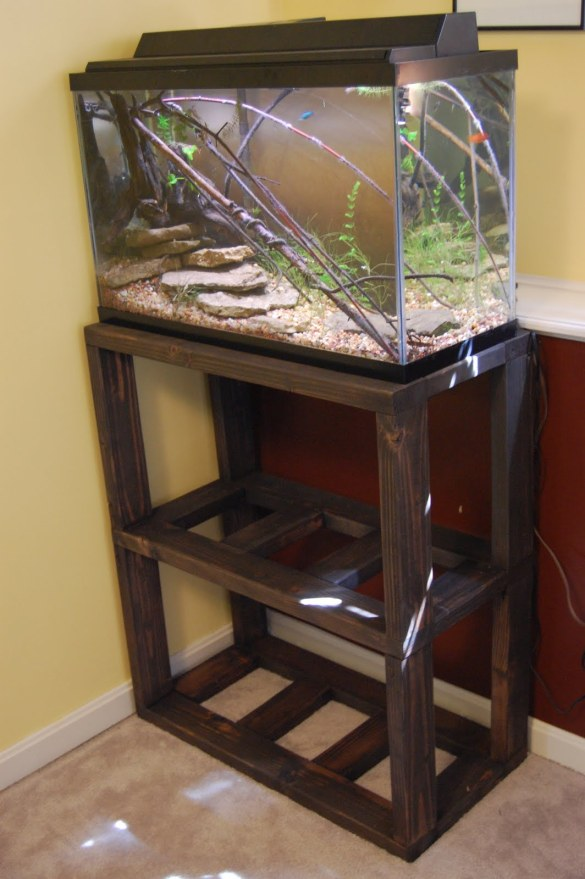 Tips For Building An Aquarium Stand